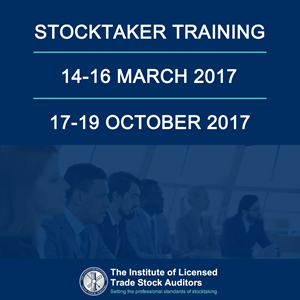 Stocktaker training and qualifications with ILTSA